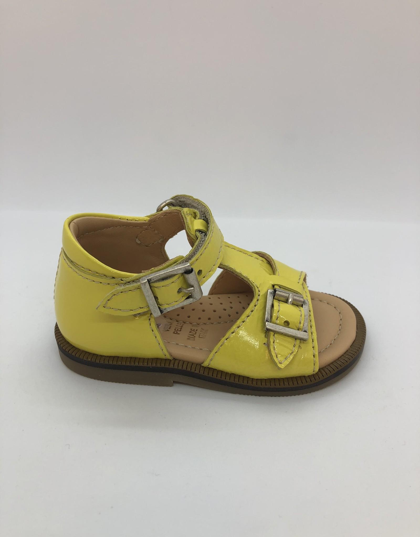 Ocra D055 sandaal geel velcro