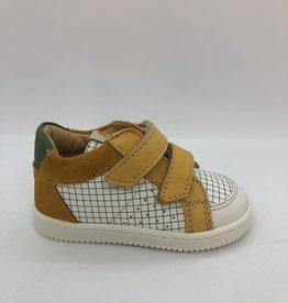Ocra D077 sneaker velcro wit oker