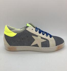 Rondinella 11882-2 jeanskleurige sneaker