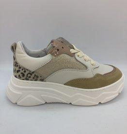 HIP H1710 sneaker beige/roze/leopard