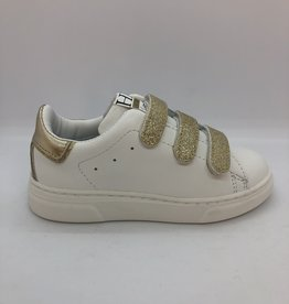 HIP H1709 sneaker wit/goud velcro