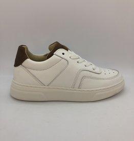 HIP H1706 sneaker wit/bruin