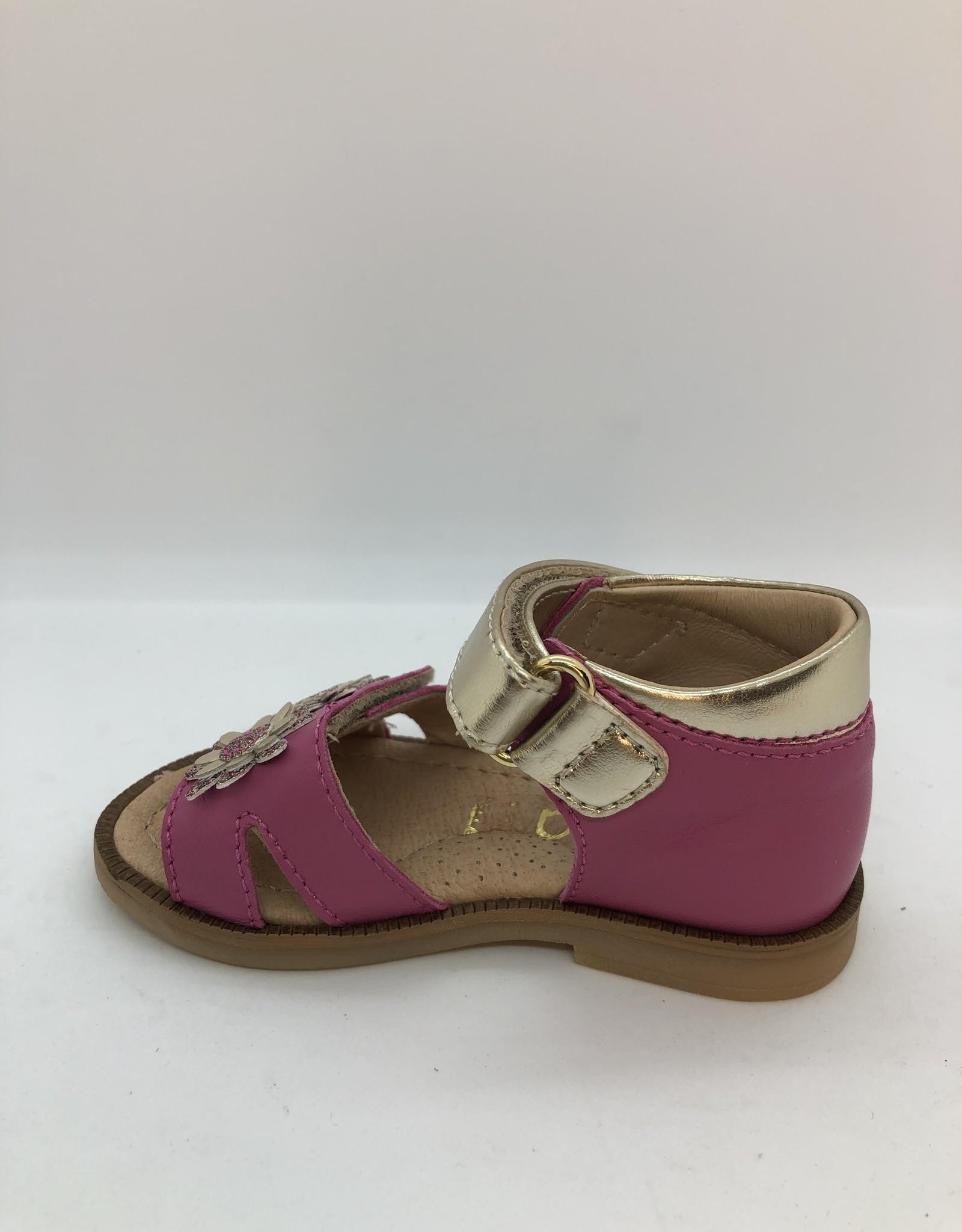 Lunella 20604 sandaal fuxia velcro