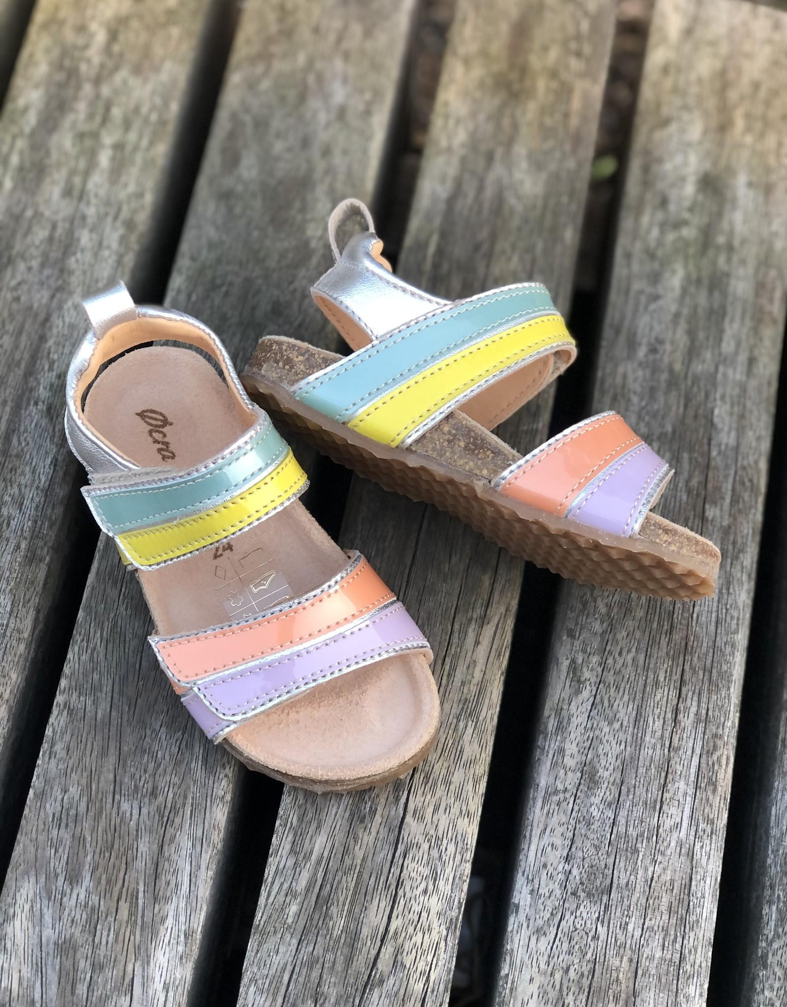 Ocra C321 sandaal meerkleurig velcro