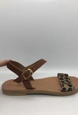 Theluto Andrea leopard sandaal