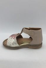 Rondinella 4542S sandaal oud roze print