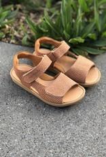 Rondinella 01023 B bruine sandaal velcro