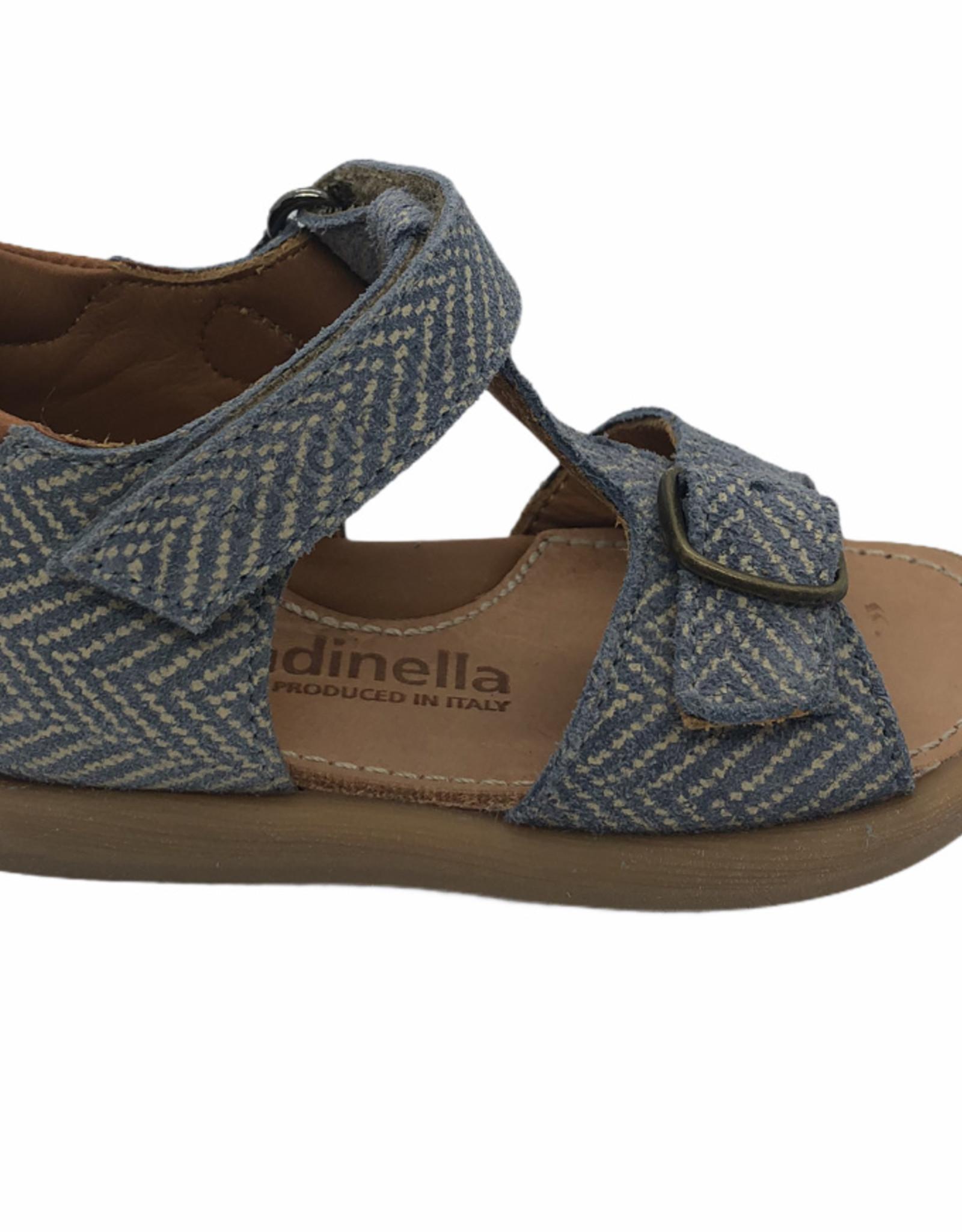 Rondinella  4521SG sandaal jeans velcro