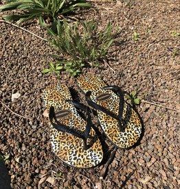 Havaianas slim leopard black/black