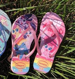 Havaianas kids slim little pony macaron pink