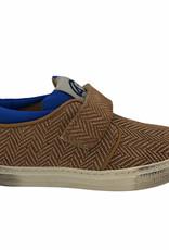 Rondinella 11870 sneaker bruin/blauw velcro