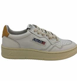 Autry sneaker leather/nub white/golden