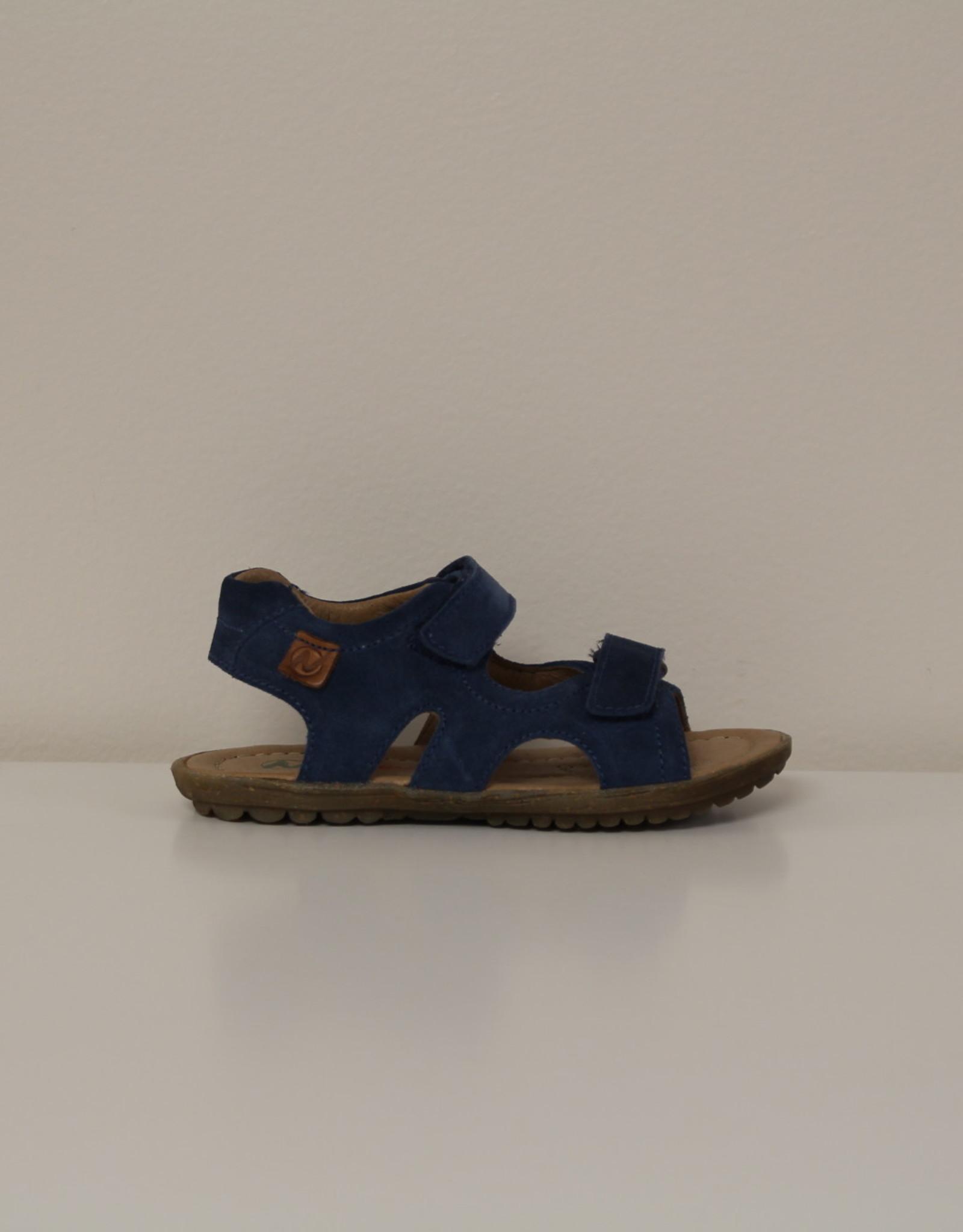 Naturino sandaal sky velour blue