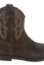 Ocra D380 cowboy laarsje donkerbruin