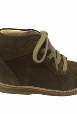 Angulus 3351-101 starter shoe with laces mustard