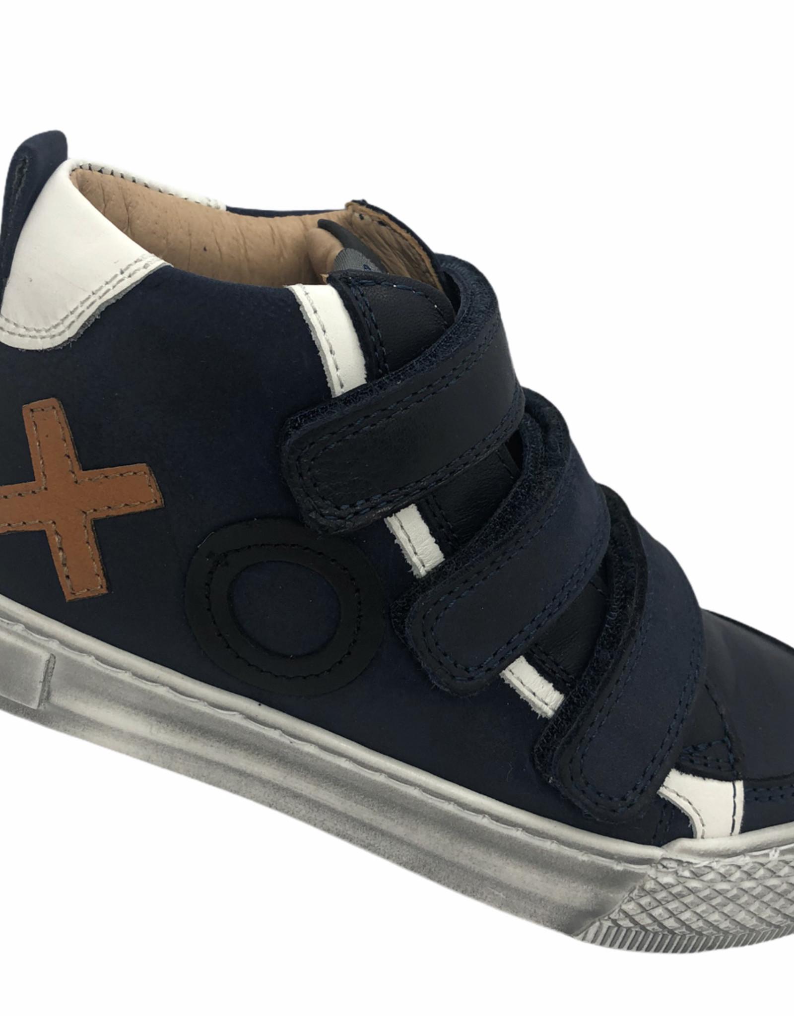 Lunella 21661 hoge sneaker blauw velcro