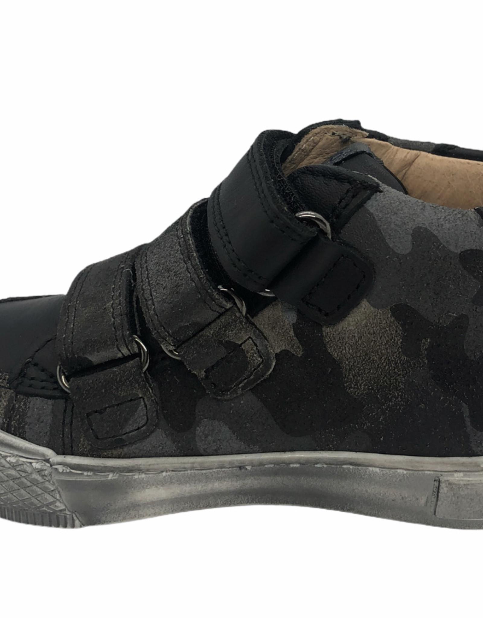 Lunella 21661 hoge sneaker grijs print