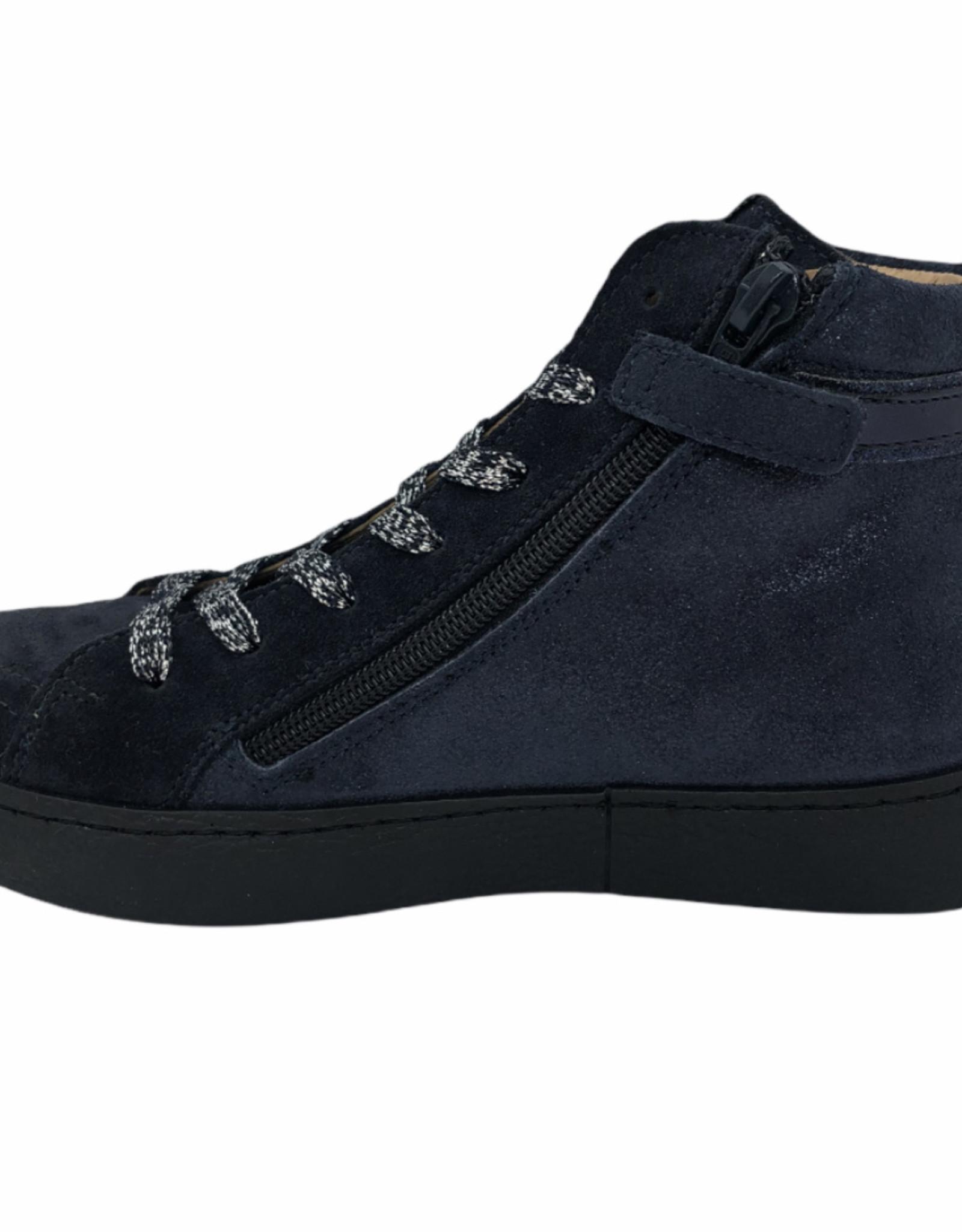 Lunella 21758 hoge sneaker blauw
