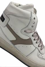 HIP H1174 hoge sneaker wit beige