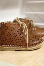 Petit Nord 21743 scallop boot cognac