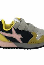 W6YZ sneaker jet yellow-grey-black