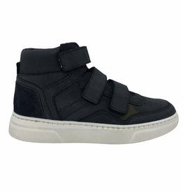 HIP H1484 hoge sneaker donker blauw combi