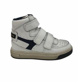 HIP H1175 hoge sneaker wit donker blauw