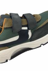 Rondinella 11714 sneaker groen zwart bruin