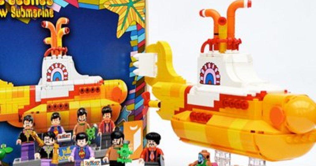 Yellow Submarine LEGO Ideas