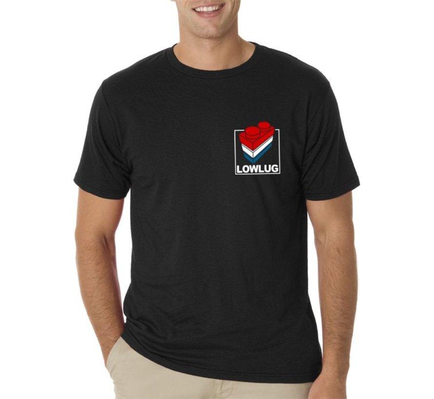 T-shirt Lowlug (borstzaklogo)