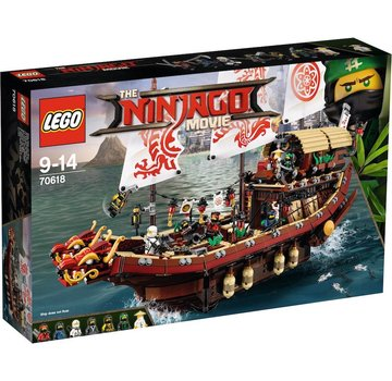 LEGO 70618 Ninjago Movie Destiny's  Bounty