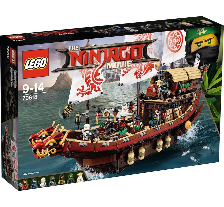 70618 Ninjago Movie Destiny's  Bounty