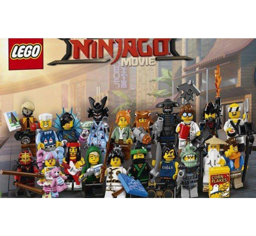 71019 Ninjago Movie minifiguren, complete serie
