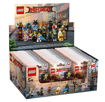 LEGO 71019 Ninjago Movie CMF Complete Doos