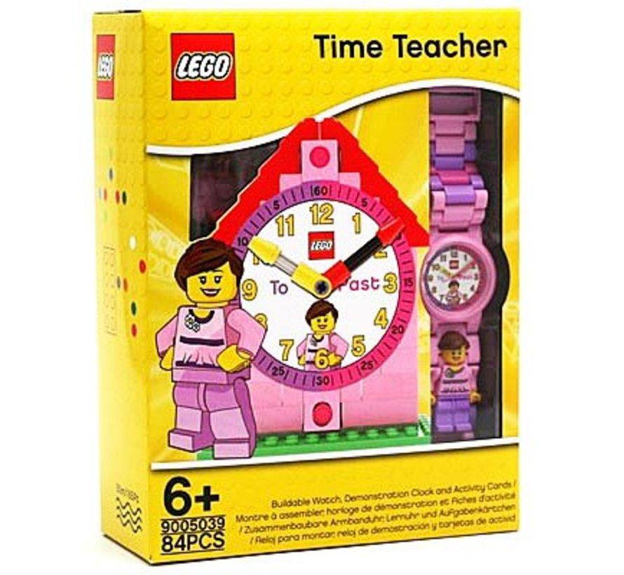 Oefenwekker kleur roze Time Teacher