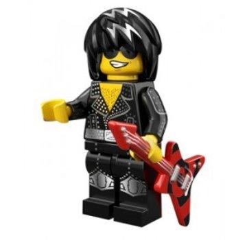 LEGO 71007-12 Minifiguren serie 12 Rock Star