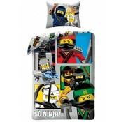 LEGO Dekbedovertrek The Ninjago Movie 2-in-1 So Ninja!