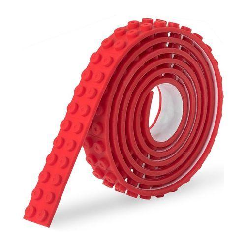 Stickbrick Lego Tape Rood Click Brick