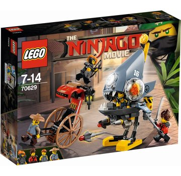 LEGO 70629 Ninjago Movie Piranha-aanval