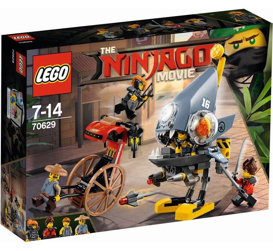 70629 Ninjago Movie Piranha-aanval