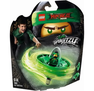 LEGO 70628 Ninjago Movie Lloyd - Spinjitzumeester