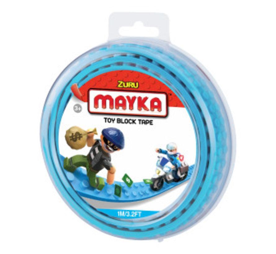 Mayka Toy Block Tape Lichtblauw