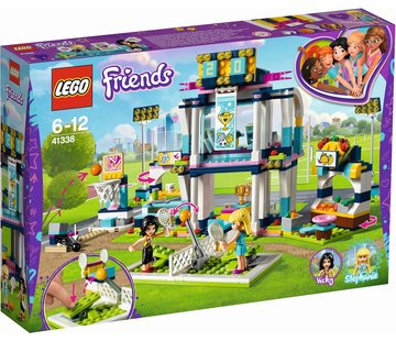 LEGO 41338 Friends Stephanie`s sportstadion