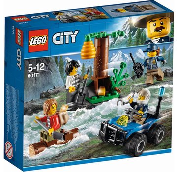 LEGO 60171 City Achtervolging door de bergen