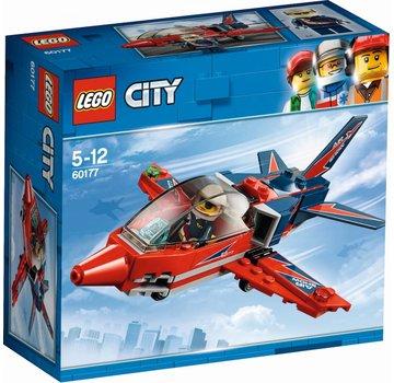 LEGO 60177 City Vliegshowjet