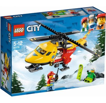LEGO 60179 City Ambulance helikopter