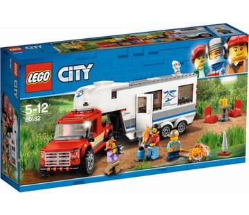 LEGO 60182 City Pick-up truck en caravan