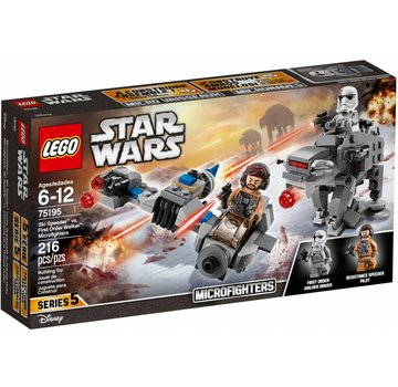 LEGO 75195 Star Wars Ski Speeder vs. First Order Walker Microfighter