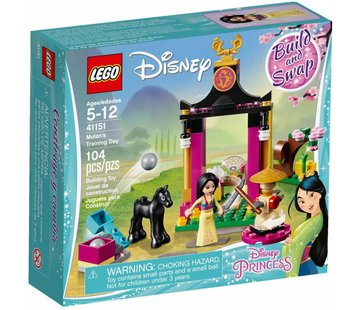 LEGO 41151 Disney Princess Mulan`s trainingsdag
