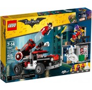 LEGO 70921 Batman Movie Harley Quinn kanonskogelaanval